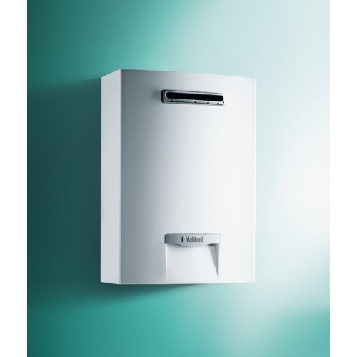 SCALDABAGNO A GAS PER ESTERNO  VAILLANT MOD. OUTSIDEMAG 12 LT. GPL/METANO LOW NOX