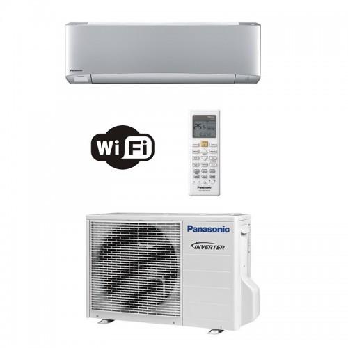 Panasonic Condizionatore Mono Split 12000 Btu Serie XZ Etherea Argento R-32 WiFi CS-XZ35VKEW CU-Z35VKE A+++ A+++ Inverter