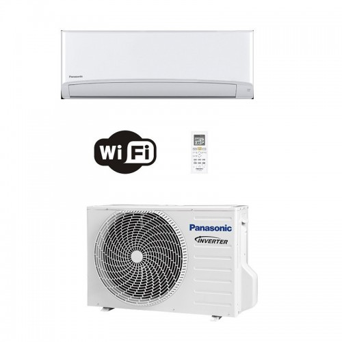 Panasonic Condizionatore Mono Split 15000 Btu Serie TZ Compatta Bianco R-32 WiFi CS-TZ42WKEW CU-TZ42WKE A++ A+ Inverter