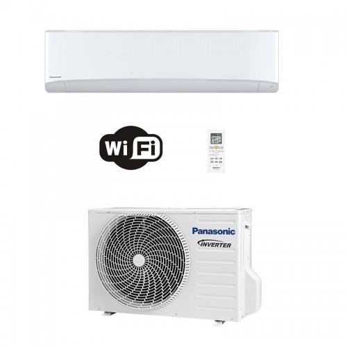 Panasonic Condizionatore Mono Split 18000 Btu Serie TZ Compatta Bianco R-32 WiFi CS-TZ50WKEW CU-TZ50WKE A++ A+ Inverter