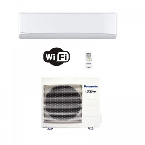 Panasonic Condizionatore Mono Split 24000 Btu Serie TZ Compatta Bianco R-32 WiFi CS-TZ71WKEW CU-TZ71WKE A++ A+ Inverter