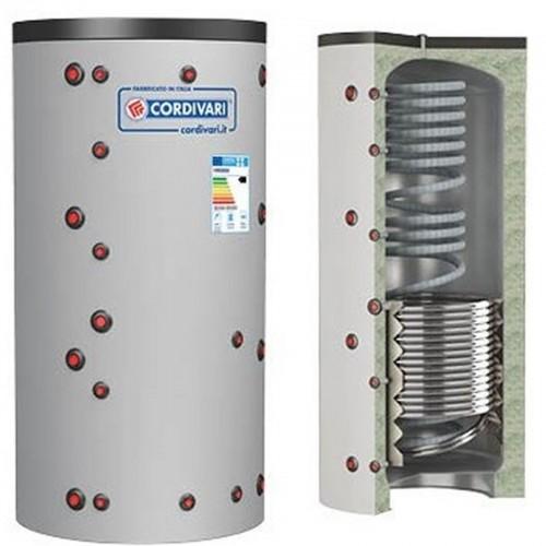 Puffer ECO-COMBI 1 HE Cordivari Riscaldamento + Scambiatore ACS Lt. 600