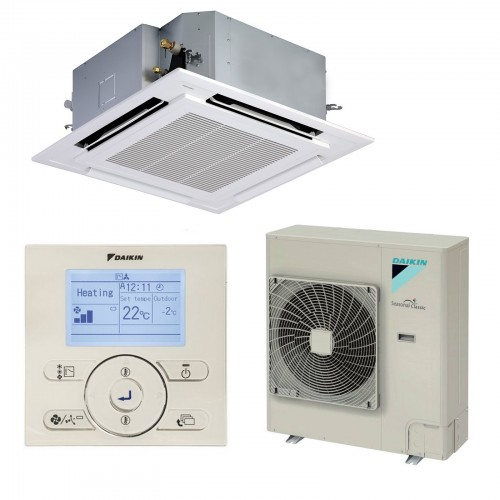 Daikin FFQS35C Cassette model set