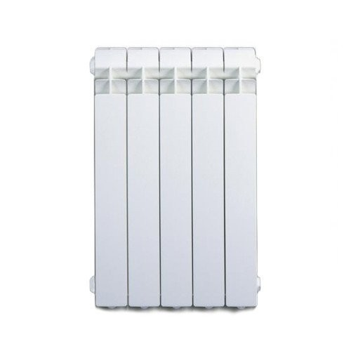 Termosifone Radiatore in alluminio da 5 elementi Fondital EXCLUSIVO B3 600 interasse 600 mm