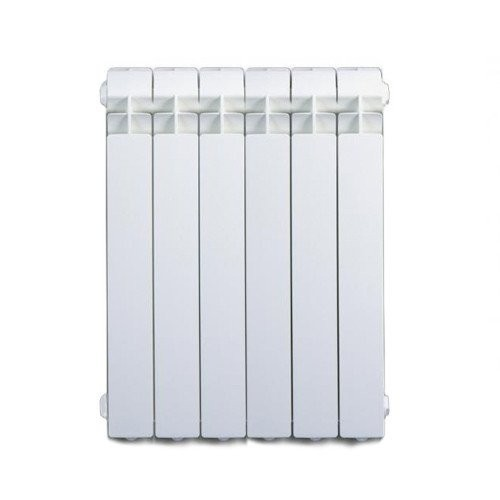 Termosifone Radiatore in alluminio da 6 elementi Fondital EXCLUSIVO B3 600 interasse 600 mm