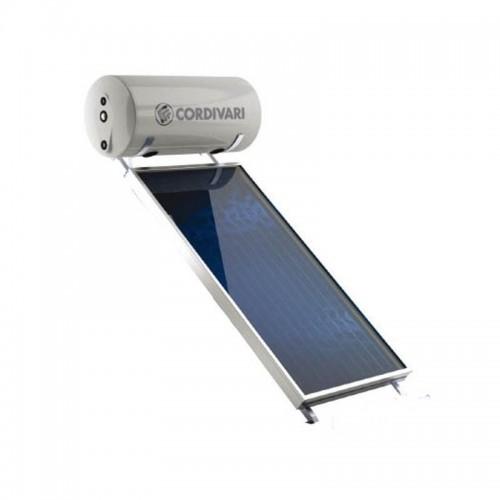 Cordivari Pannello Solare TU NATURAL EVO 200 Litri 2,5 mq Circolazione Naturale Installazione tetto inclinato e piano