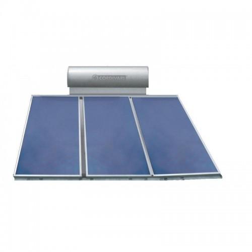 Cordivari Pannello Solare PANAREA 300 Litri 6 mq Circolazione Naturale Installazione tetto inclinato e piano