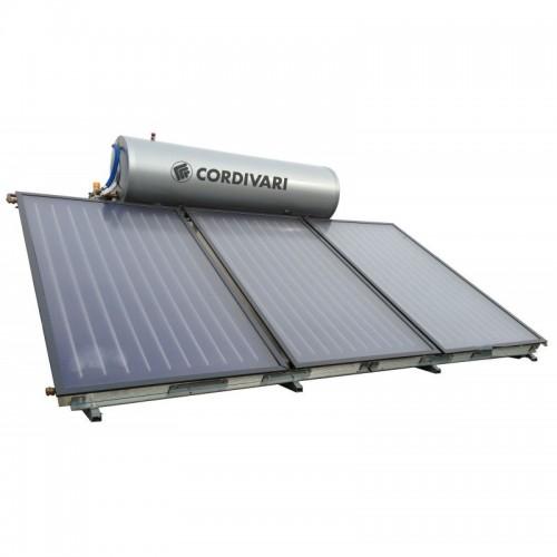 Cordivari Pannello Solare TU NATURAL EVO 300 Litri 6 mq Circolazione Naturale Installazione tetto inclinato e piano