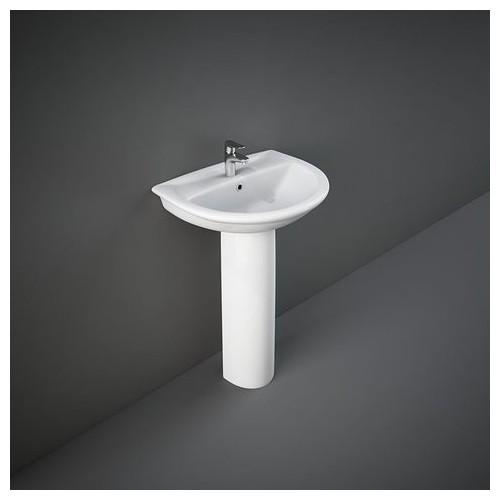 Lavabo con colonna rak karla 406 x 500 mm condizionati - Lavabo con colonna ...