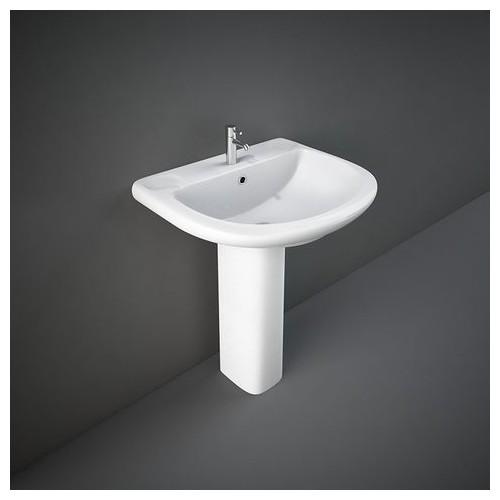 Lavabo con Colonna RAK-ORIENT 550 X 660 MM