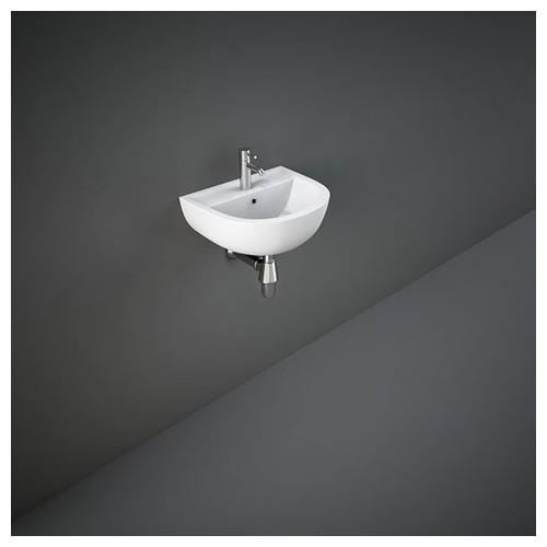 Lavabo sospeso RAK-COMPACT  300 X 380 MM