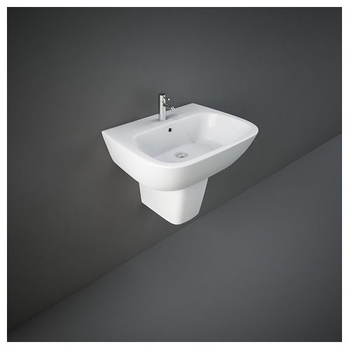 Lavabo con Semicolonna RAK-ONE 460 X 600 MM