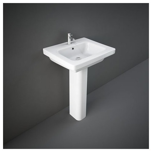 Lavabo con Colonna RAK-RESORT 460 X 550 MM
