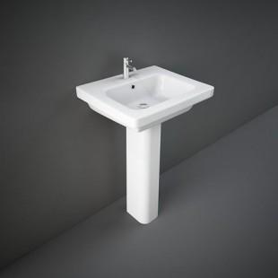 Lavabo con Colonna RAK-KARLA 406 X 500 MM