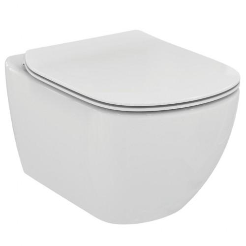 VASO sospeso Tesi WC completo di sedile slim