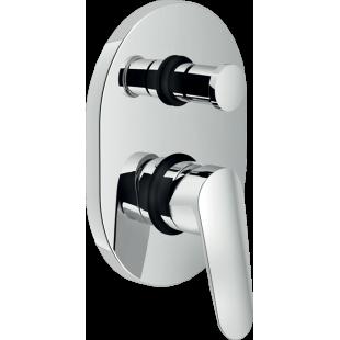 """Miscelatore lavabo con scarico 1"""" 1/4"""