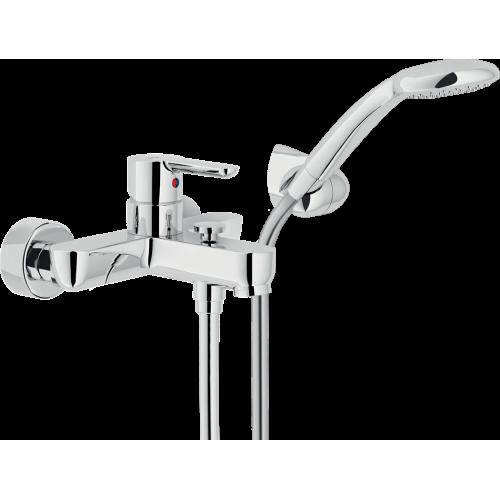 Miscelatore vasca esterno con Duplex