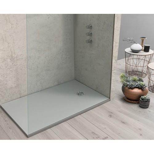 Piatto doccia DOCCIARDESIA 80x100 bianco con piletta