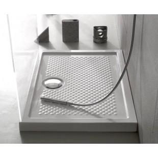 Piatto doccia DOCCIARDESIA 80x110 bianco con piletta