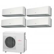 Fujitsu Condizionatore 4 x ASYG07LMCE AOYG30LAT4 Quadri Split Serie ASYG-LMCE 7+7+7+7 Btu Sostituisce Serie LMCA
