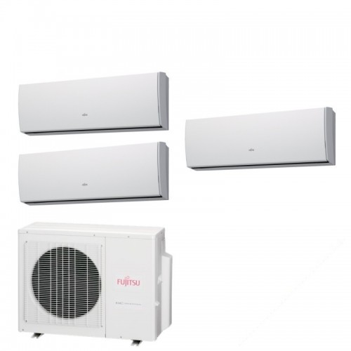 Fujitsu Climatizzatore ASYG09LUCA ASYG09LUCA ASYG09LUCA AOYG24LAT3 Trial Split Serie LU 9+9+9 Btu