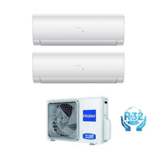 Climatizzatore Haier Dual Split IES (14000 esterna) 7000+12000 2U40S2SC1FA+ AS20S2SFSFA+ AS35S2SFSFA NUOVA GAMMA