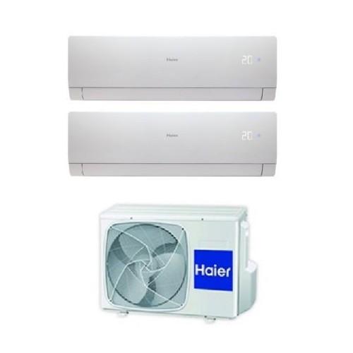 Climatizzatore Haier Dual Split  NEBULA GREEN W  (18000 esterna) 9000+9000 2U50S2SF1FA+ AS25S2SN2FA + AS25S2SN2FA  NUOVA GAMMA