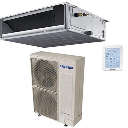 Climatizzatore SAMSUNG CANALIZZABILE MEDIA PREVALENZA 48000 BTU AC140MNMDKH/EU + AC140MXADKH/EU R-410 TRIFASE