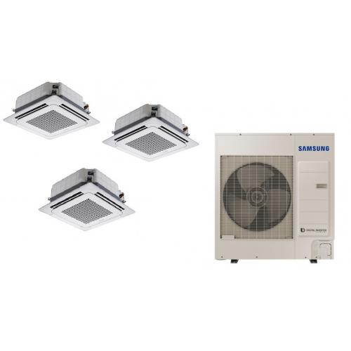 Climatizzatore SAMSUNG Trialsplit Cassetta 4 Vie WINDFREE  18000 + 18000 + 18000 BTU  R-410 TRIFASE