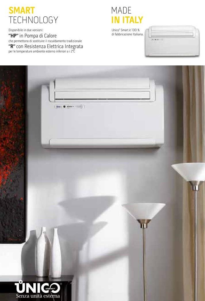 UNICO SMART 12 HP On-OFF Pompa di calore